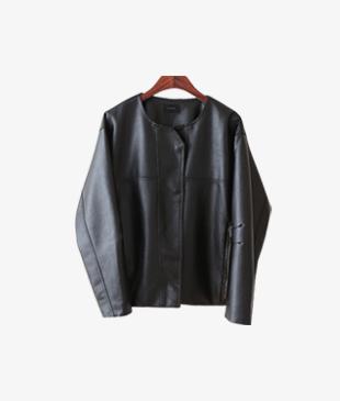 sandro leather jk_2c