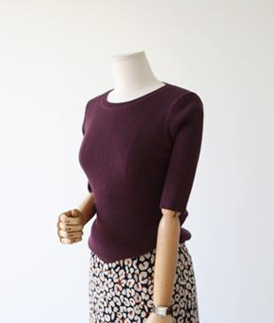 golgi slim knit_4c